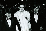 Gloria Vanderbilt with her two sons Anderson Cooper & Carter Vanderbilt Cooper<br />