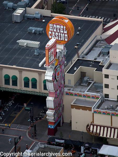 aerial photograph Circus Circus Reno, Nevada