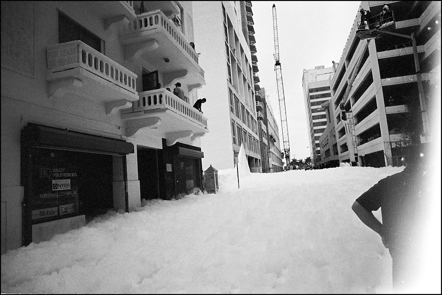 "White Foam Invasion<br /> From ""The other Wind"" series. Miami, Florida, 2008"