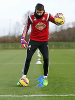 Pictured: Goalkeeper Lukasz Fabianski Wednesday 10 December 2014<br />