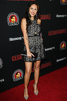 """HOLLYWOOD, LOS ANGELES, CA, USA - MARCH 20: Barbara Mori at the Los Angeles Premiere Of Pantelion Films And Participant Media's """"Cesar Chavez"""" held at TCL Chinese Theatre on March 20, 2014 in Hollywood, Los Angeles, California, United States. (Photo by Celebrity Monitor)"""
