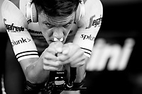 Jasper Stuyven (BEL/Trek-Segafredo) warming up for the TTT<br /> <br /> Stage 2 (TTT): Brussels to Brussels (BEL/28km) <br /> 106th Tour de France 2019 (2.UWT)<br /> <br /> ©kramon