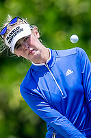 Jessica Korda of USA in act during day 4 of HSBC Women's World Championship 2018 at Sentosa Golf Club, Sentosa,, Singapore, on 4  March 2018, Singapore.  Photo by : Ike Li / Prezz Images