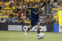 29 MAY 2010:  Galaxy's #20 A.J. DeLaGarza during MLS soccer game between LA Galaxy vs Columbus Crew at Crew Stadium in Columbus, Ohio on May 29, 2010. Galaxy defeated the Crew 2-0.