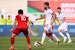 Mohammadhossein Kanani Zadeghan of Iran (R) in action during the AFC Asian Cup UAE 2019 Group D match between Vietnam (VIE) and I.R. Iran (IRN) at Al Nahyan Stadium on 12 January 2019 in Abu Dhabi, United Arab Emirates. Photo by Marcio Rodrigo Machado / Power Sport Images