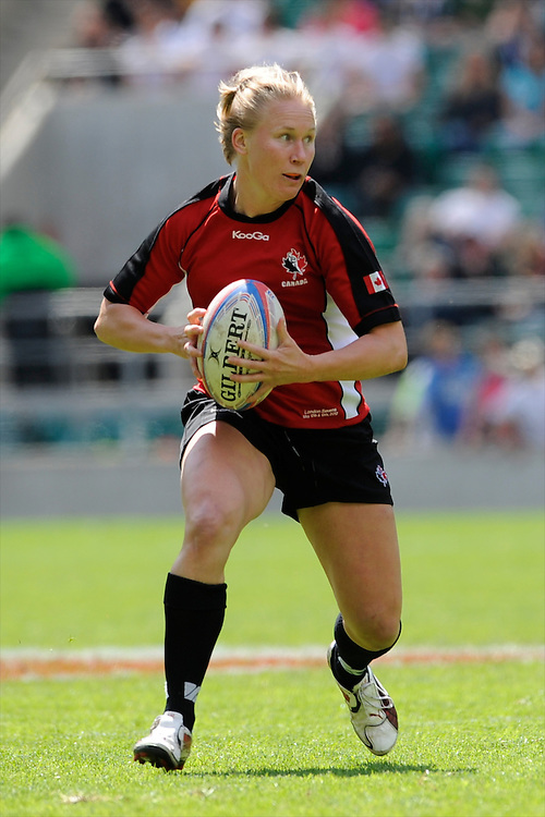 Mandy Marchak of Canada during the iRB Challenge Cup at Twickenham on Sunday 13th May 2012 (Photo by Rob Munro)