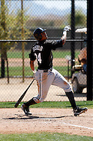 Javier Castillo  -  Chicago White Sox - 2009 spring training.Photo by:  Bill Mitchell/Four Seam Images