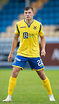 St Johnstone FC….Season 2019-20 <br />Callum Hendry<br />Picture by Graeme Hart. <br />Copyright Perthshire Picture Agency<br />Tel: 01738 623350  Mobile: 07990 594431