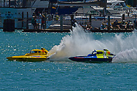 """Frame 8: Andrew Tate, H-300 """"Pennzoil"""", Donny Allen, H-14 """"Legacy 1""""       (H350 Hydro)"""