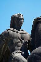 Statue of Alexander the Great. Thessaloniki, Macedonia, Greece