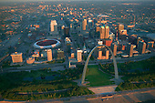 Early morning over St Louis