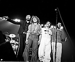 The Who 1975 John Entwistle Roger Daltrey Keith Moon and Pete Townshend<br /> © Chris Walter