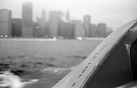 Manhattan vom Hudson River.<br /> New York City, 29.12.1998<br /> Copyright: Christian Ditsch/version-foto.de