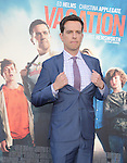 Ed Helms<br />  attends The Warner Bros. Pictures' L.A. Premiere of Vacation held at The Regency Village Theatre  in Westwood, California on July 27,2015                                                                               © 2015 Hollywood Press Agency
