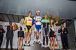 Yves LAMPAERT (BEL), Topsport Vlaanderen - Baloise, Michael VINGERLING (NED), Team3M, Jos VAN EMDEN (NED), Belking Pro Cycling, Arnhem Veenendaal Classic , UCI 1.1, Veenendaal, The Netherlands, 22 August 2014, Photo by Thomas van Bracht / Peloton Photos