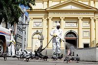 07/04/2021 - SANITIZAÇÃO NO CENTRO DE CAMPINAS