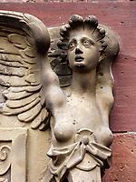 Friedrichsbau im Schloss, Heidelberg, Baden-Württemberg,  Deutschland, Europa<br /> Friedrichsbau inside the castle, Heidelberg, Baden-Wuerttemberg, Germany, Europe