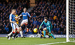 Barrie McKay shoots just wide