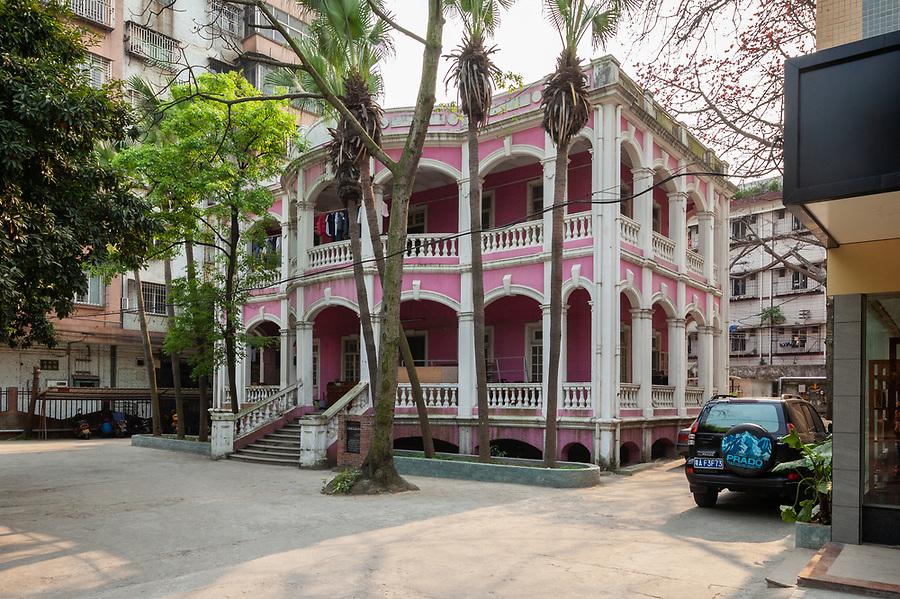 The Asiatic Petroleum Company Office In Jiangmen (Kongmoon).