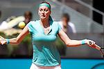 Petra Kvitova during Madrid Open Tennis 2015 match.May, 5, 2015.(ALTERPHOTOS/Acero)