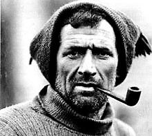 Tom Crean of Annascaul, Co Kerry, in the Antarctic