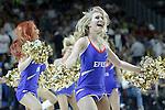Euroleague's cheerleaders during Euroleague Semifinal match. May 15,2015. (ALTERPHOTOS/Acero)