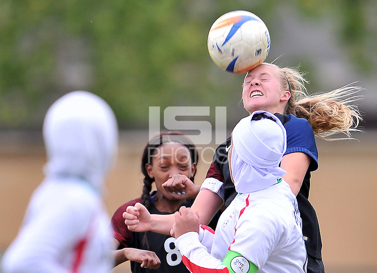 Monfalcone, Italy, April 26, 2016.<br /> USA's #10 Enge during during USA v Iran football match at Gradisca Tournament of Nations (women's tournament). Monfalcone's stadium.<br /> © ph Simone Ferraro / Isiphotos