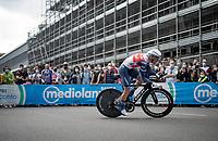 Giulio Ciccone (ITA/Trek - Segafredo)<br /> <br /> 104th Giro d'Italia 2021 (2.UWT)<br /> Stage 1 (ITT) from Turin to Turin (8.6 km)<br /> <br /> ©kramon