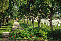 Carthage, Tunisia. American World War II Cemetery.