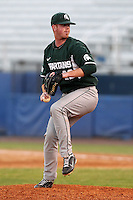 Michigan State Spartans Bryce Jenney #22 during a game vs the Akron Zips at Chain of Lakes Park in Winter Haven, Florida;  March 12, 2011.  Michigan State defeated Akron 5-1.  Photo By Mike Janes/Four Seam Images