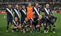 USA Starting Eleven. USA tied England 1-1 in the 2010 FIFA World Cup at Royal Bafokeng Stadium in Rustenburg, South Africa on June 12, 2010.