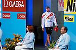 Shinri Shioura (JPN), JULY 31, 2013 - Swimming : Shinri Shioura of Japan prepares to start in the men's 100m freestyle semifinal at the 15th FINA Swimming World Championships at Palau Sant Jordi arena in Barcelona, Spain. (Photo by Daisuke Nakashima/AFLO)