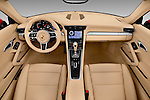 Stock photo of straight dashboard view of 2017 Porsche 911 Carrera 2 Door Convertible Dashboard