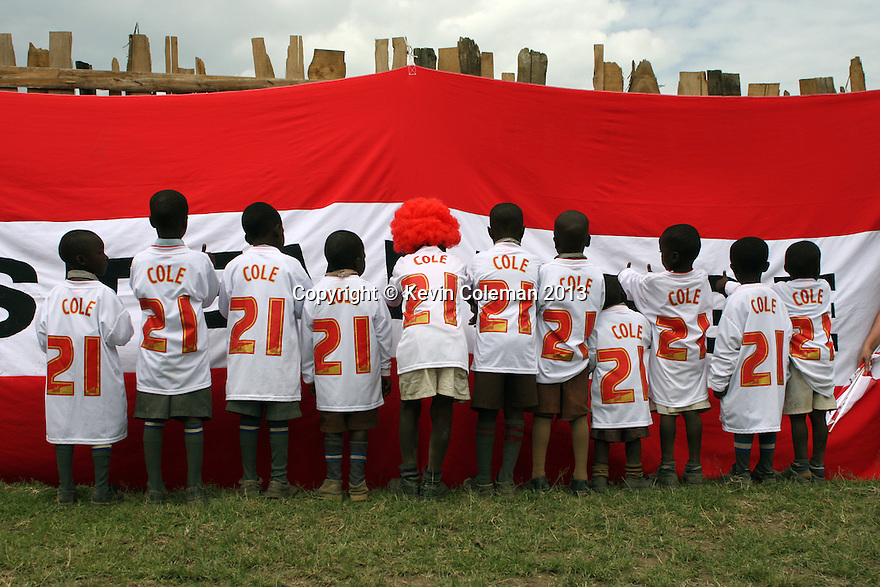 Stevenage FC Community Project, Nakuru, Kenya - 30th May, 2013<br />  © Kevin Coleman 2013