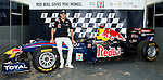 Red Bull team driver Jaime Alguersuari of Spain attends a press conference ahead the 2011 Dragon Run in Hong Kong. Photo © Victor Fraile /  The Power of Sport Images for Red Bull