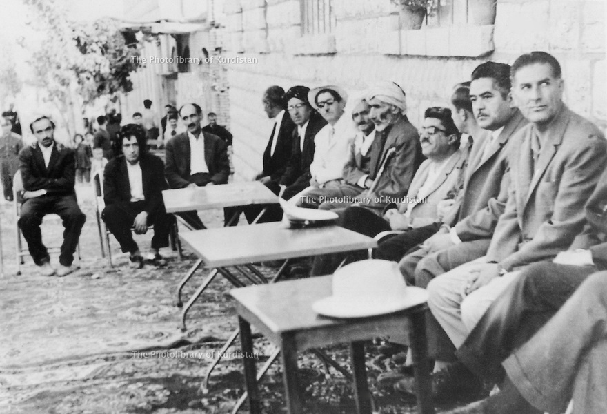 Iran 1954 .Opening of a new hall in Sakkez  .Iran 1954 .L'ouverture d'un nouveau hall a Sakkez