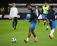 Paulinho (Brasilien Brasilia) - 27.03.2018: Deutschland vs. Brasilien, Olympiastadion Berlin