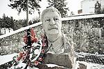 """Staline in statue in """"stalin complex"""", a giant open air space dedicated to the glory of the USSR and army, february 2018, Minsk , Belarus.<br /> Staue de staline au sein du """"stalin complex"""", un espace à ciel ouvert dédié à la gloire de l'Union soviétique et aux prouesse militaires, Minsk, février 2018, Biélorussie."""