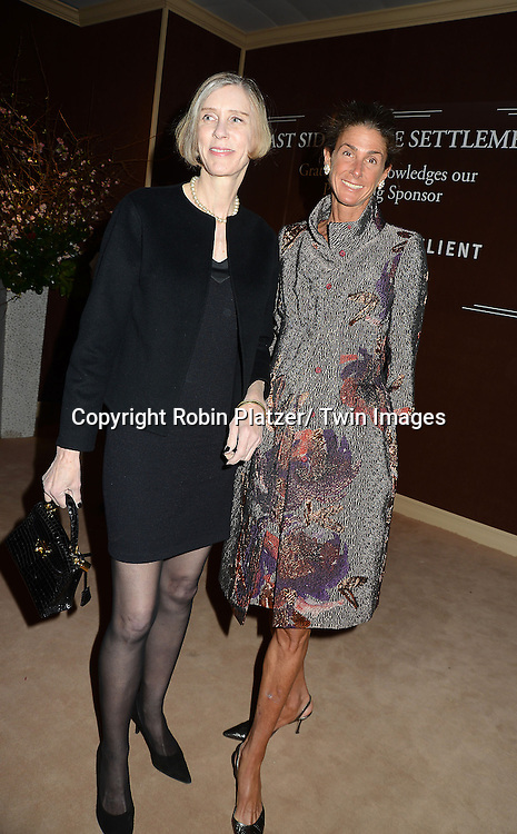 Boo Grace and Somers Farkas attends the 59th Annual Winter Antiques Show opening night which benefits the East Side House Settlement on .January 24, 2013 at the Park Avenue Amory in New York City.