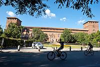 Pavia, Castello Visconteo --- Pavia, Visconti Castle