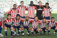 Chivas USA starting XI. FC Dallas defeated Chivas USA 2-0 at Home Depot Center Stadium, in Carson, Calif., on Sunday, April 20, 2008.