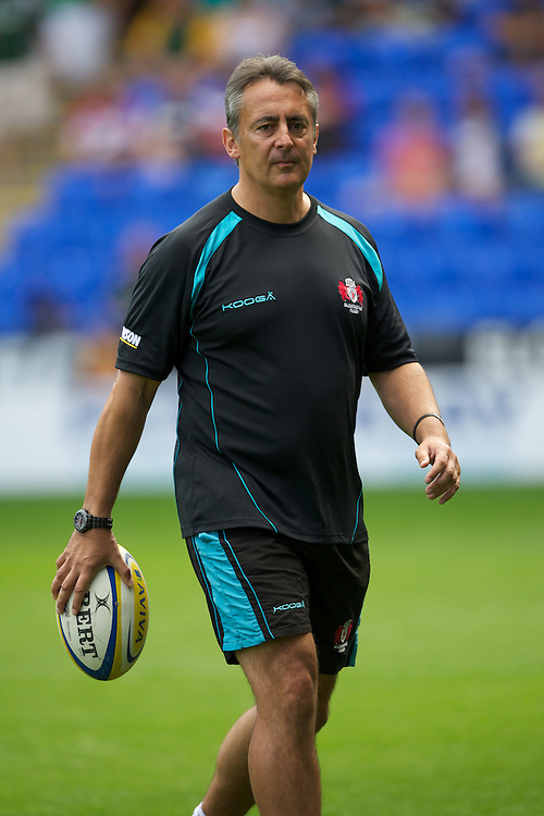 Nigel Davies, Gloucester Rugby Director of Rugby, before the Aviva Premiership match between London Irish and Gloucester Rugby at the Madejski Stadium on Saturday 8th September 2012 (Photo by Rob Munro)
