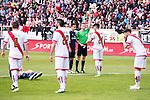 Rayo Vallecano's XXX and Real Madrid's XXX during La Liga match. April 23,2016. (ALTERPHOTOS/Borja B.Hojas)