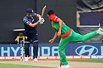 Calum McLeod's holes out off Mashrafe Mortaza's bowling. ICC Cricket World Cup 2015, Bangladesh v Scotland, 5 March 2015,  Saxton Oval, Nelson, New Zealand, <br /> Photo: Marc Palmano/shuttersport.co.nz