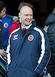 St Johnstone v Stenhousemuir…21.01.17  McDiarmid Park  Scottish Cup<br />Stenhousemuir manager Brown Fergsuon<br />Picture by Graeme Hart.<br />Copyright Perthshire Picture Agency<br />Tel: 01738 623350  Mobile: 07990 594431