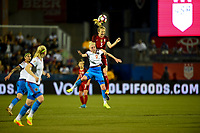 Frisco, TX - April 6, 2017: The U.S. Women's national team go up 3-0 over Russia in an international friendly match at Toyota stadium.