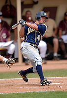 Georgia Tech OF Jeff Rowland in action vs. Boston College at Shea Field on May 22, 2010 in Chestnut Hill, MA (Photo by Ken Babbitt/Four Seam Images)