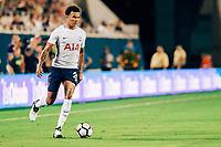 Orlando, FL - Saturday July 22, 2017: Dele Alli during the International Champions Cup (ICC) match between the Tottenham Hotspurs and Paris Saint-Germain F.C. (PSG) at Camping World Stadium.