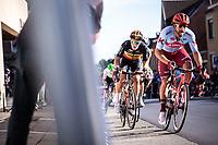 Belgian Champion Tim Merlier (BEL/Corendon Circus)<br /> <br /> 104th Kampioenschap van Vlaanderen 2019<br /> One Day Race: Koolskamp > Koolskamp 186km (UCI 1.1)<br /> ©kramon
