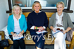 Enjoying the afternoon at the Listowel races on Monday, l to r: Catherine O'Leary (Listowel), Maura Cooney and Mary O'Connor studying the form for the 4.25 race.